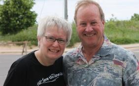Nancy and Doug