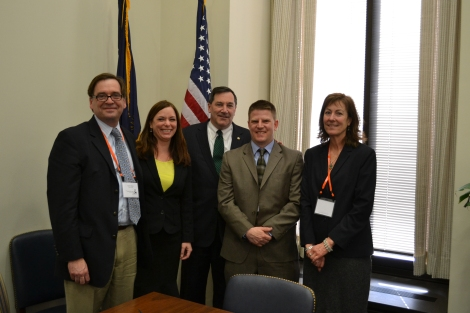 Members of Indiana's Team Meet with Senator Donnelly