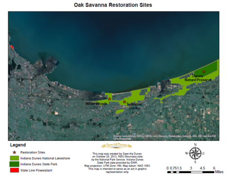 Restoration Sites