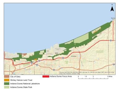 Indiana Dunes Focus Area